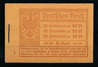 Deutsches Reich Markenheftchen Mi-Nr: 14 ** postfrisch, Germania