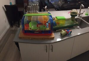 Hamster cage and accessory's