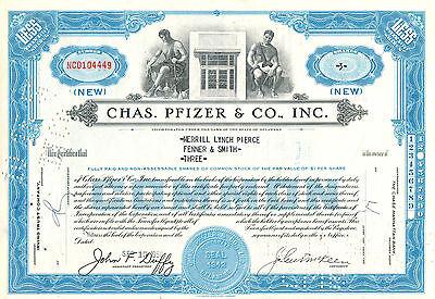 CHAS. PFIZER & CO. INC. 1958