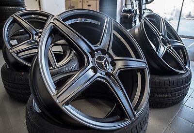 19 Zoll AX7 Alu Felgen für Mercedes A CLA C E Klasse A45 AMG W204 W212 W176 207
