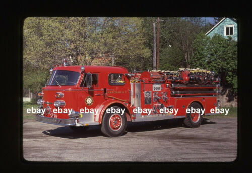 Katonah NY E117 1968 American La France pumper Fire Apparatus Slide