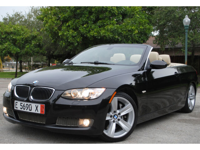 2009 bmw 335i convertible hard top 6cyl twin turbo 1 owner no reserve used bmw 3. Black Bedroom Furniture Sets. Home Design Ideas