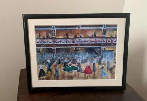 Northern Soul; Northern Soul Dancers, Wigan Casino, I Go to Pieces, Framed Print
