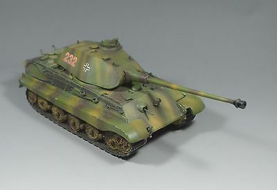 1/35 prebuilt and handpainted ww2 German King Tiger
