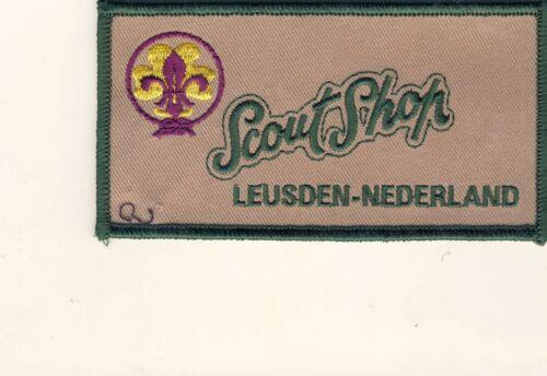 """Scout Shop Leusden-Nederland Netherlands 2.5"""" x 4.5"""" Patch"""