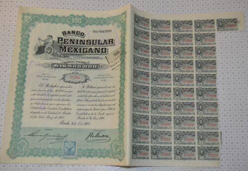 Banco Peninsular Mexicano, shipping free