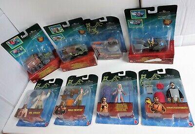 Disney Atlantide Atlantis Lost Empire LOT 5 Action Figures 3 Vehicles MOC Mattel