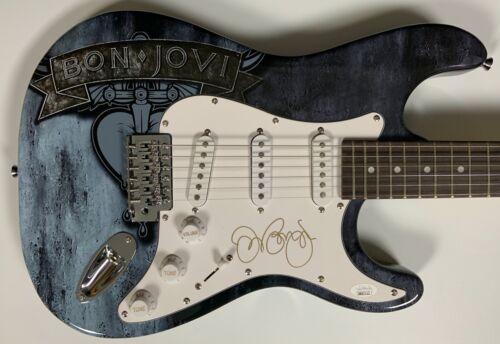 Jon Bon Jovi JSA Autograph Signed Guitar Stratocaster