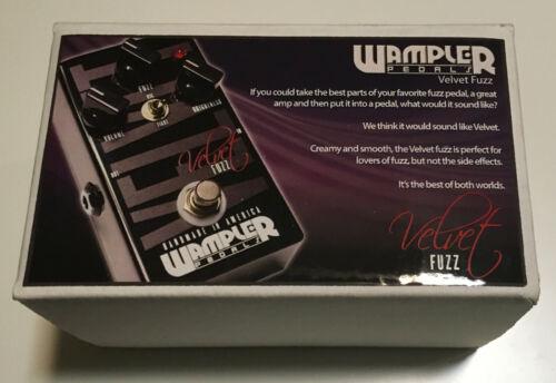 Wampler Velvet Fuzz v1