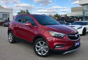 2018 Buick Encore Essence | SUNROOF | LEATHER | CHROME WHEELS...
