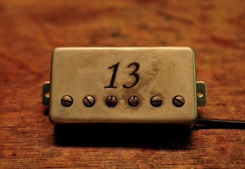 Arcane Inc. The 13 Engraved Distressed Trem Spaced Humbucker