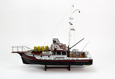 """The ORCA from the movie """"JAWS"""" Wooden Fishing Boat Model 35"""" RC Ready"""