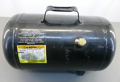 C Portable Black 5-gallon Air Tank