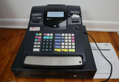 TOSHIBA TEC ELECTRONIC CASH REGISTER MA-600-1 SERIES - WORKS!