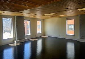 Beautiful Open Concept Office | Downtown | Onsite Parking