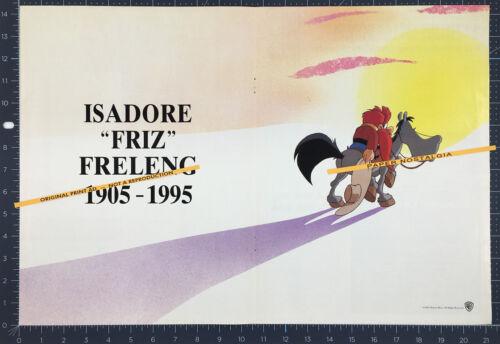 Isadore FRIZ FRELENG: 1905-1995__Orig. 1995 Trade Print AD / poster_YOSEMITE SAM