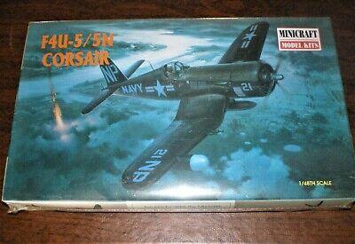 1/48 Minicraft Model Kits F4U-5/5N Corsair 11617 SEALED PREPAID POSTAGE