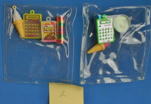 Lot of 8 Vintage Miniature Plastic, metal Charms, Prize, Toys advertising # 2