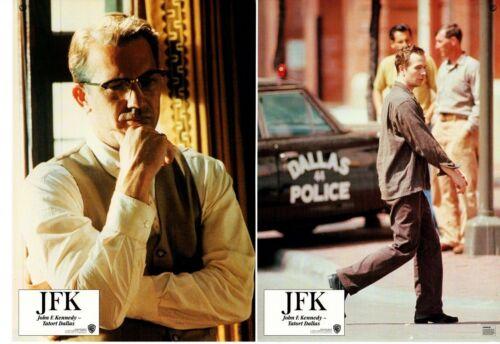 *JFK (1991) Original 16-Card Vertical & Horizontal German Lobby Card Set Costner