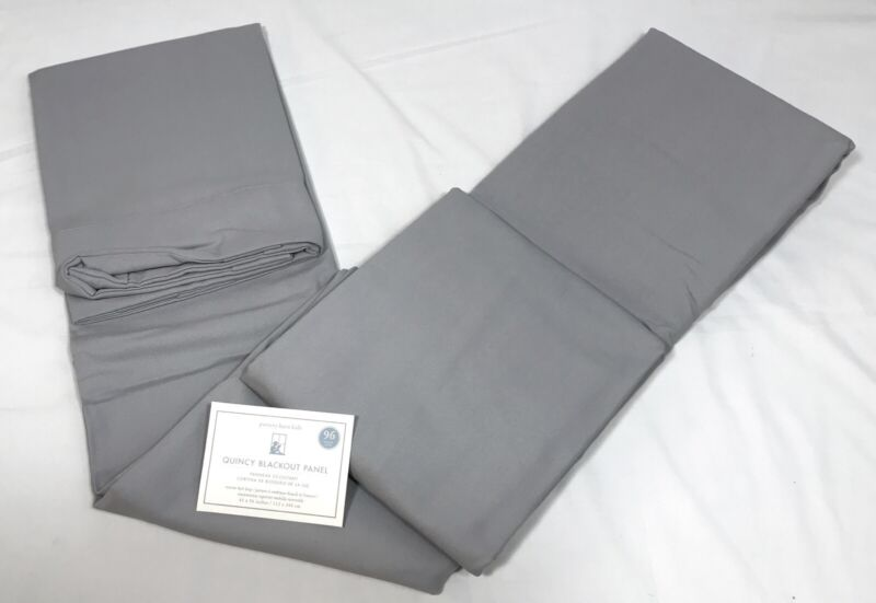 1 Pottery Barn Kids Gray Quincy Canvas Blackout 96