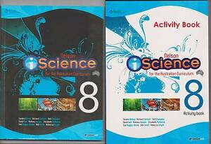 Nelson iScience Year 8 + 3 Access Codes + Activity Book exc cond Hope Valley Tea Tree Gully Area Preview