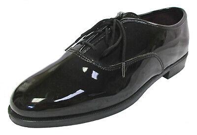 Men's Black Tuxedo Shoes Round Toe Lace Up Formal Wedding Prom Mason Cruise Mens Black Formal Tuxedo Shoes