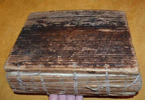 Antique Ethiopian Coptic Christian Manuscript Hand Written Vellum Bible Codex 55