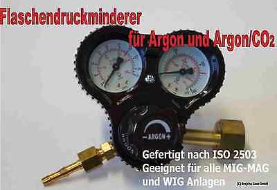 Druckminderer Argon CO2 Schutzgas MIG MAG WIG Neu Druckregler