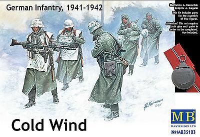 MASTER BOX™ 35103 WWII German Infantry 1941-1942 Cold Wind FIGUREN in 1:35