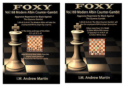 Gambit Chess - Foxy Openings Chess DVD 168 & 169 - The Albin Counter gambit Part 1 & Part 2