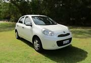 2013 NISSAN MICRA ST 80,000KMS 1.2L 3 CYL 5SPD MAN $30 P/W T.A.P Maddington Gosnells Area Preview