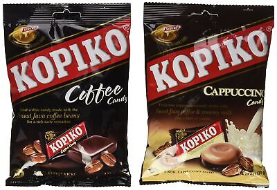 Kopiko Candy Variety Pack (Coffee and Cappuccino) 4.23 Ounce (Pack of 2)