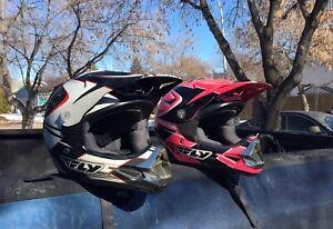 Fly Helmets Moto use or ATV use