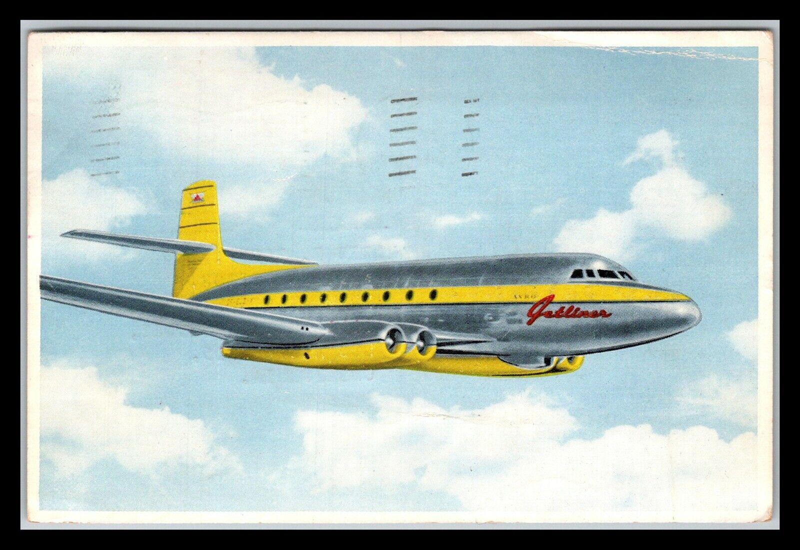 GP GOLDPATH US POST CARD 1950, FLUSHING, NY. AIRPORT STA. CV424 P23 - $1.00