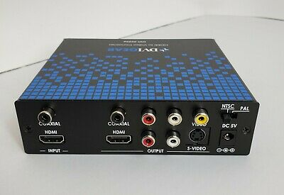 DVIGear DVI-3525a Converter/Repeater HDMI To Video  for sale  Shipping to India