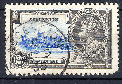 Ascension 2d Silver Jubilee SG32 Cat £38 fine used[801]