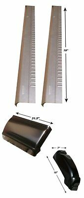 GMC PICKUP EXTENDED CAB 3 DOOR ROCKER PANELS AND CAB CORNERS (3dr Extended Cab)