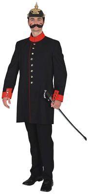 historische Uniformjacke zum Herren Kostüm an Karneval Fasching -