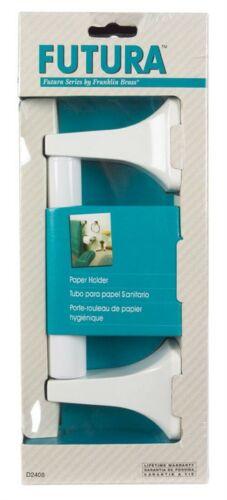 Futura Toilet Paper Holder - Finish: White