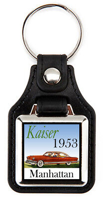Kaiser 1953 Manhattan Keychain Key Fob, used for sale  Shipping to Canada