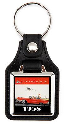 Ford 1958 Thunderbird Keychain T-Bird Key Fob