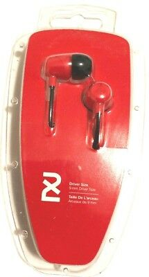 2XL Spoke Skullcandy Noise Isolating In-Ear Earbud/Headphone Model:X2SPZ-691-Red for sale  Shipping to India