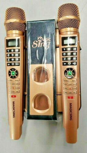 Magic Sing E5+ 5145 Tagalog songs + WIFI Karaoke Two Wireless Microphones