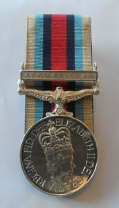 OSM Afghanistan Full Size Medal Mounted, Clasp, Army, Military, Op Herrick