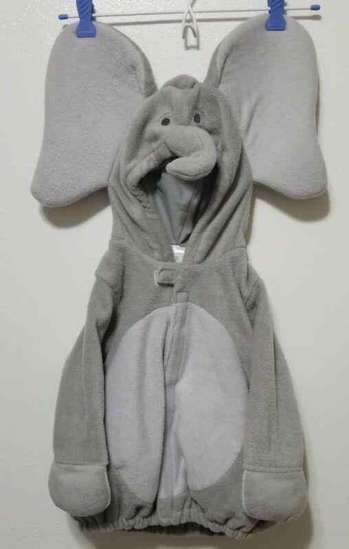 Old Navy gray Elephant Costume 2piece, warm, sz 18-24mos