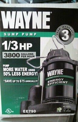 Wayne Ee790 13 Hp Sump Pump Free Shipping