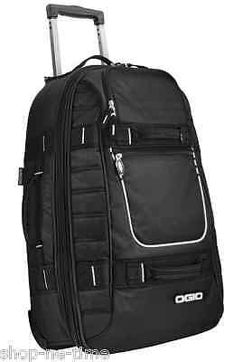 "OGIO Pull-Through 22"" Black Carry-On Travel Bag  Fit Overhead Bins - New"