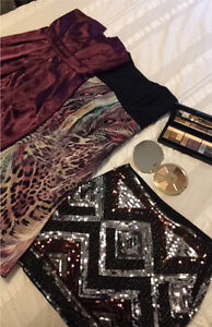 Makeup and clothing for sale!