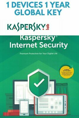 KASPERSKY INTERNET Security 2020 / 1 Device / 1 Year / GLOBAL-KEY for sale  Shipping to Nigeria