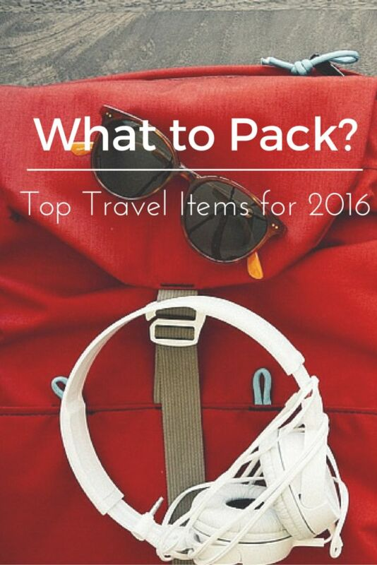 The Best Travel Gear for 2016